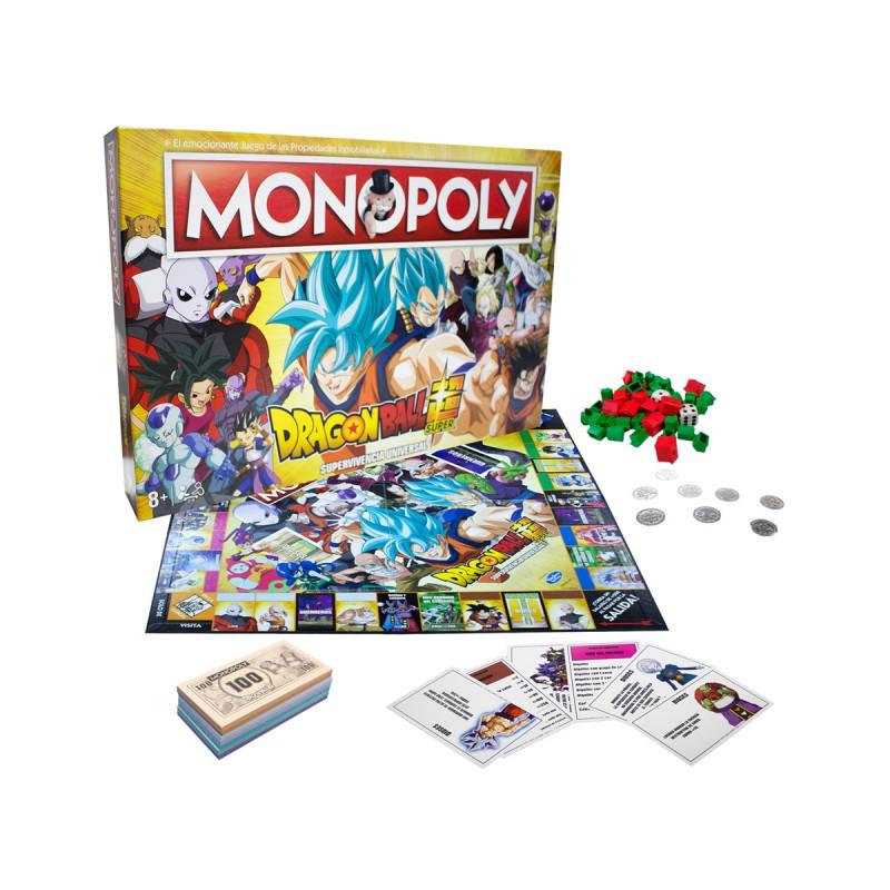MONOPOLY DRAGON BALL SUPER ED. LIMITADA