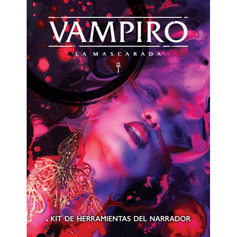 VAMPIRO MASCARADA: PANTALLA NARRADOR