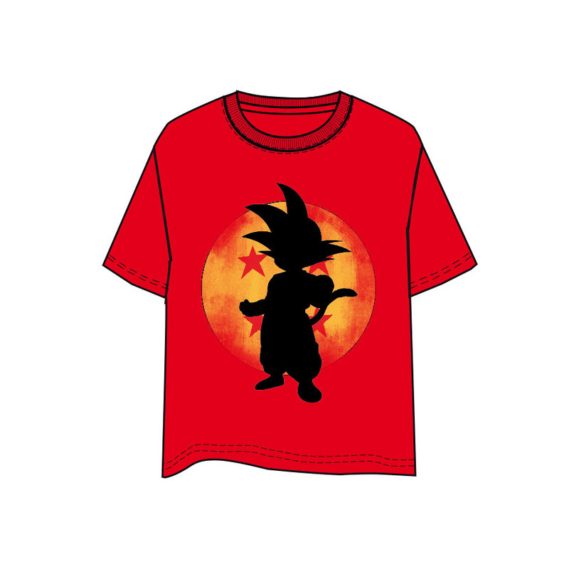 CAMISETA DRAGON BALL GOKU NIÑO