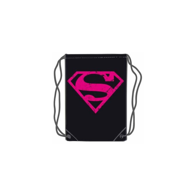 SACO SUPERMAN ROSA 45 X 35