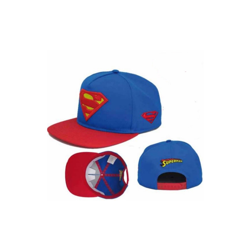 GORRA SUPERMAN LOGO