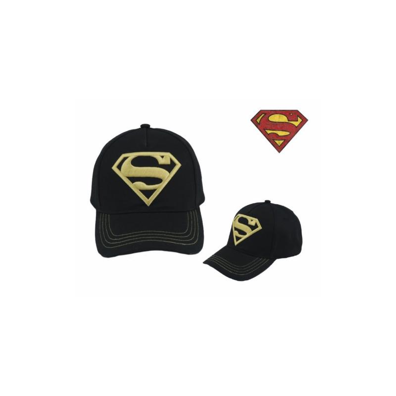 GORRA SUPERMAN DORADO