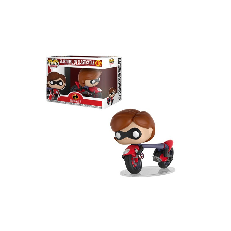 FIGURA POP INCREDIBLES: ELASTICGIRL ON BIKE