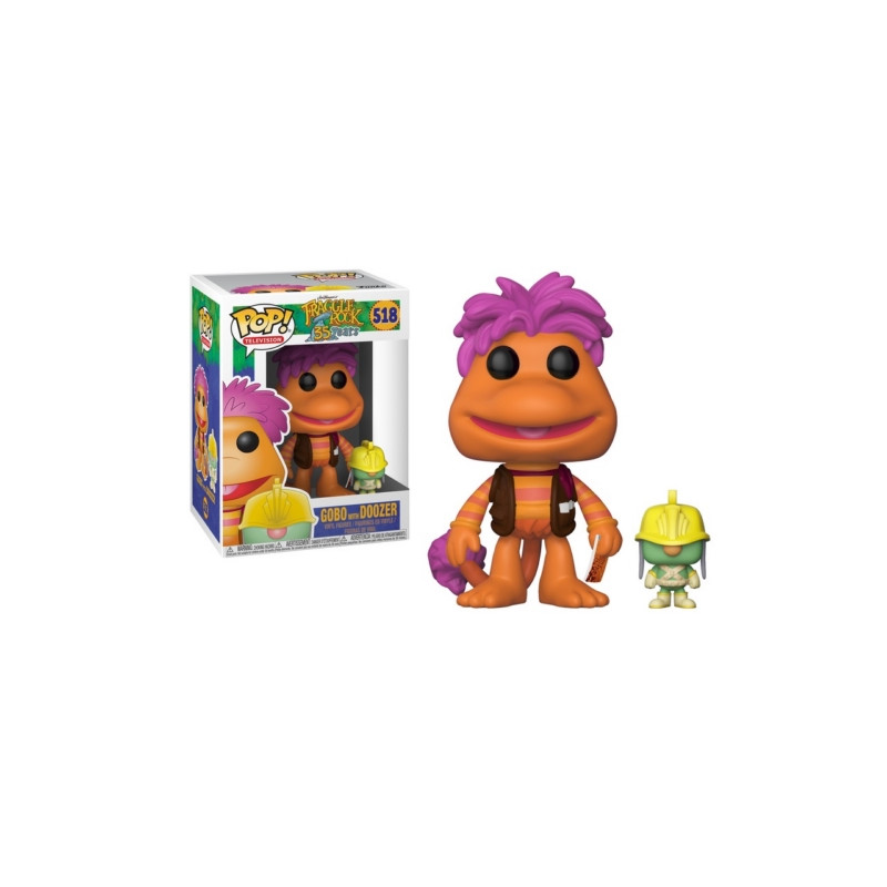 FIGURA POP FRAGGLE ROCK: GOBO