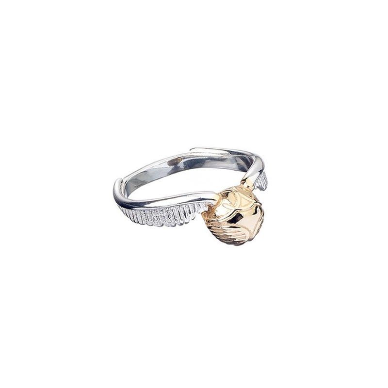 ANILLO PLATA HARRY POTTER SNITCH