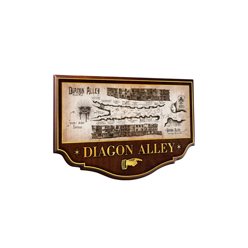 ESCUDO DIAGON ALLEY HARRY POTTER