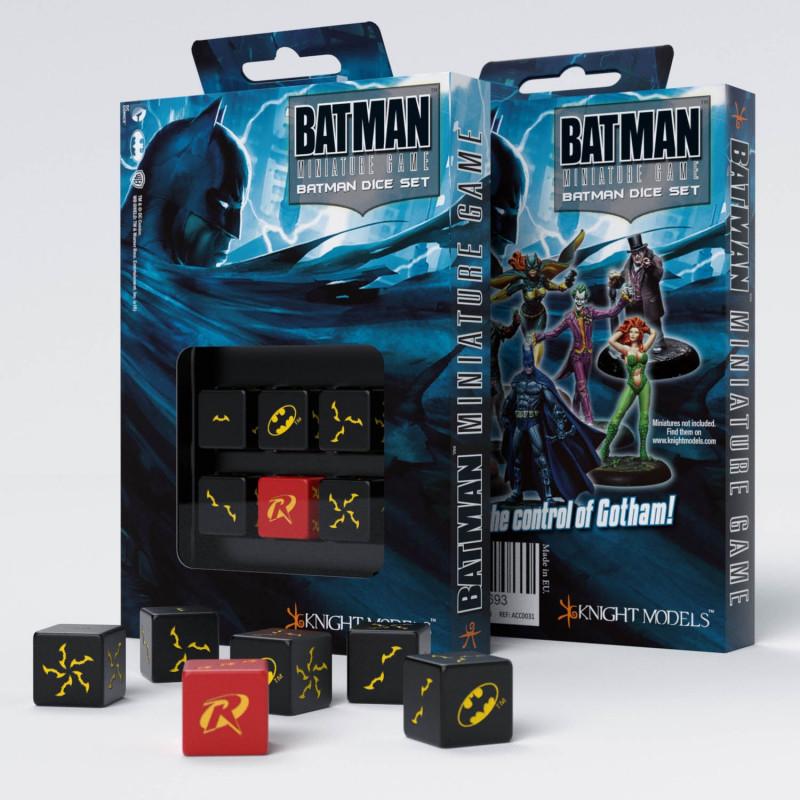 QW BATMAN MINIATURE GAME - BATMAN SET D6