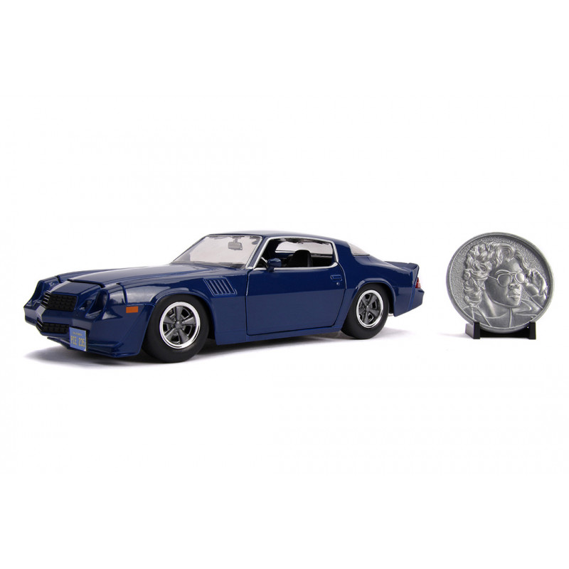 COCHE METAL STRANGER THINGS CHEVY CAMARO 1:24