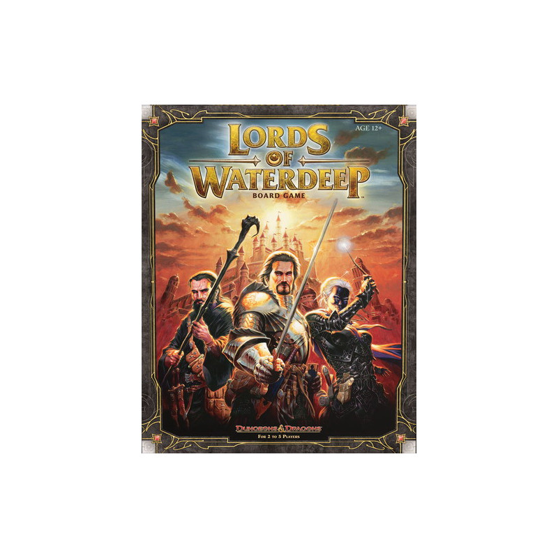 D&D TABLERO: LORDS OF WATERDEEP (INGLÉS)