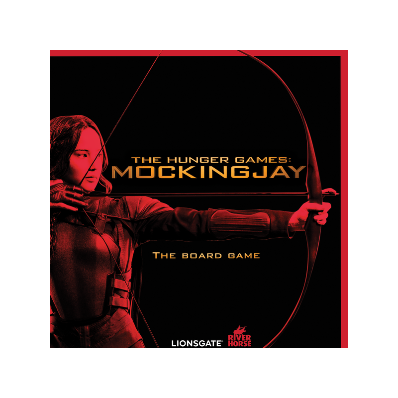 HUNGER GAMES THE BOARDGAME (INGLES)
