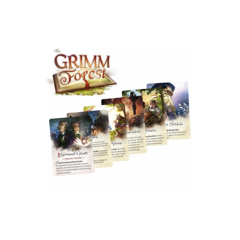 GRIMM FOREST - SET CARTAS PROMOS (CASTELLANO)